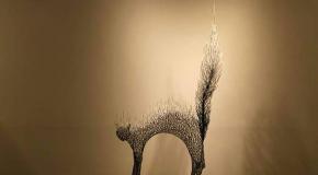 Sculptures d'animaux en métal de l'artiste Kang Dong Hyun