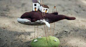 Les fabuleuses créations en laine de Tyorka, une artiste Russe
