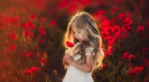 Mère et fille et un amour de fleurs