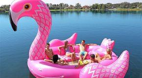 Des flotteurs magiques pour une balade en mer cet été!