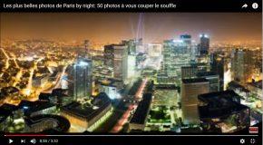 Paris la nuit, de sublimes clichés en couleurs!