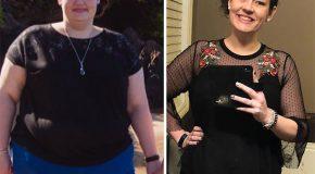 Elle pesait 170 kilos il y 'a deux ans, aujourd'hui elle a perdu 70 kilos!