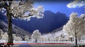 La beauté de l'hiver dans une présentation en musique!