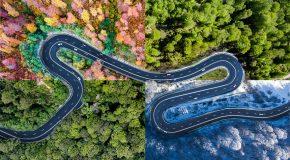 Voyage avec un drone sur les routes de Transylvanie en Roumanie (20 photos)