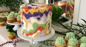 Les gâteaux-tapis d'une artiste hors du commun!