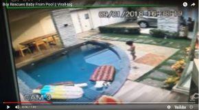 Un enfant sauve son petit frère de la noyade, un accident évité de justesse!