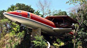 Un Boeing transformé en une maison de luxe, projet de folie !