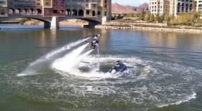 Le Flyboarding, le nouveau sport aquatique qui fait sensation sur les côtes américaines
